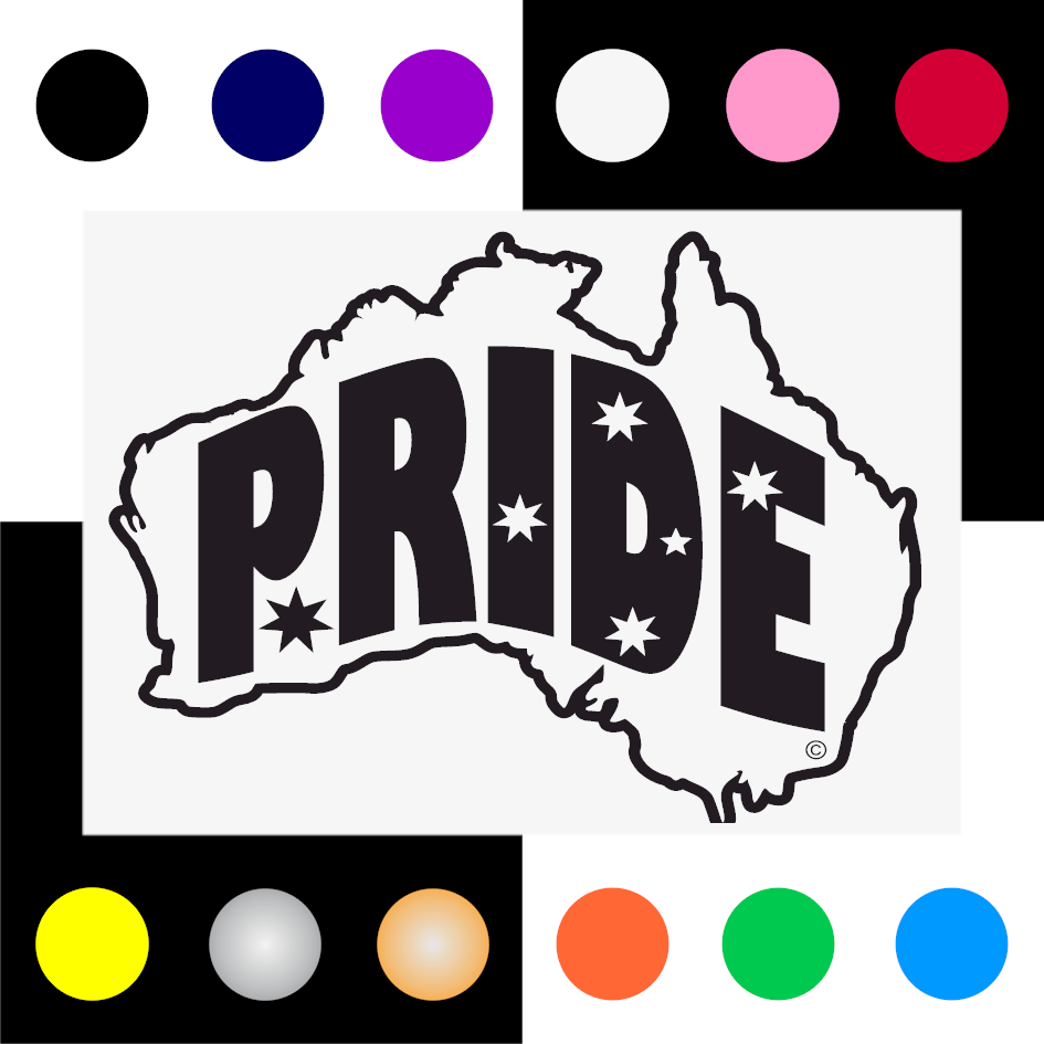 Pride Iron On Transfer 28x20cms for ALL Garments